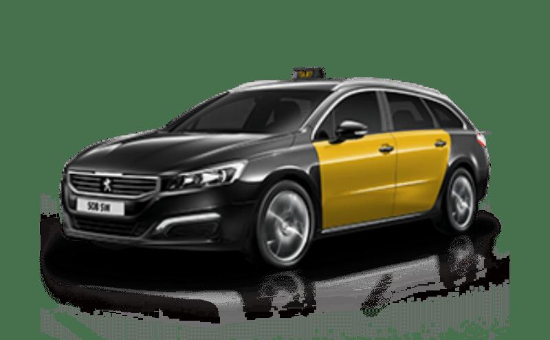 taxi vehículo Normal 4 plazas